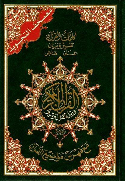 Heiliger Qur'an – Arabisch mit Farbkodierung