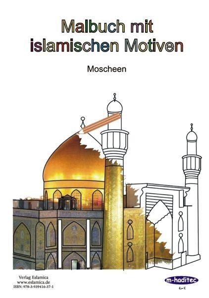 Malbuch 1 mit islamischen Motiven – Moscheen