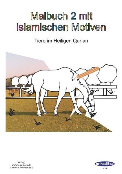 Malbuch 2 mit islamischen Motiven – Tiere im Heiligen Qur'an